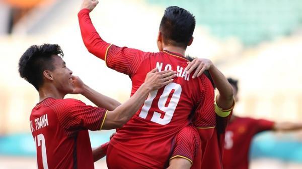 Olympic Việt Nam - Pakistan 1-0: Quang Hải lập siêu phẩm mở tỉ số, cú sút quá đẹp