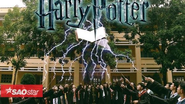 """Teen Sóc Trăng """"ĐẠI NÁO""""' biến lớp học thành Học viện Phù thủy Hogwarts trong bộ ảnh kỷ yếu chất phát ngất"""