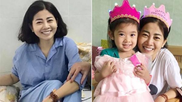 TIN VUI đã đến với Mai Phương và con gái