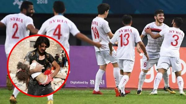Lý do áo đấu của Olympic Syria không có tên cầu thủ và sự thật ai cũng cảm động