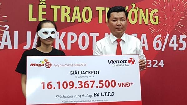 HOT: Cô gái miền Tây trúng Vietlott trên 16 tỷ đồng