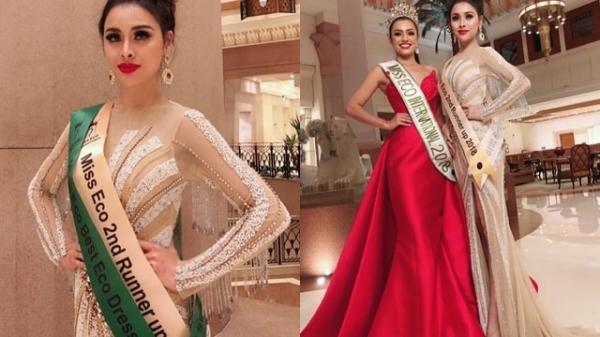 """HOT: Thư Dung tiếp tục bị tước thêm danh hiệu á hậu """"Miss Eco International"""""""