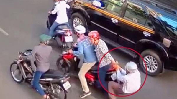 Bắt đối tượng quê Trà Vinh trong băng nhóm đạp đổ xe, cướp tài sản