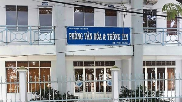 Một trưởng phòng huyện Thới Bình (Cà Mau) phải nộp lại gần 120 triệu đồng chi sai