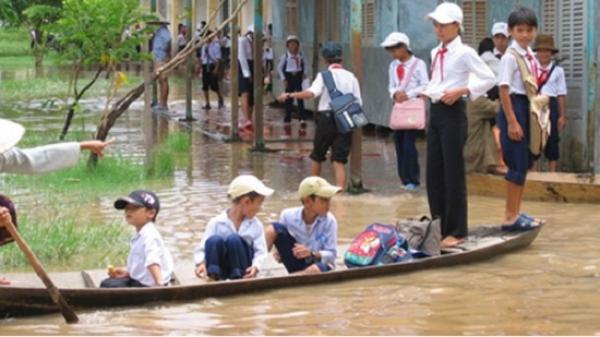 NÓNG: Bộ trưởng Bộ GD-ĐT gửi công điện phòng chống ngập lụt ở Trà Vinh và các tỉnh ĐBSCL