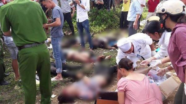 KINH HOÀNG: Xe bồn đâm xe khách lao xuống vực, 11 người chê't thảm tại chỗ