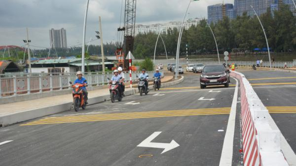 TP.HCM: Hôm nay, đường D1 chính thức thông xe giảm ùn tắc nhiều nút giao ở quận 7