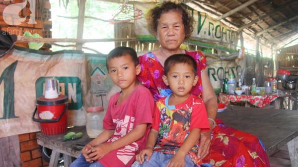 Kiên Giang: Mẹ bỏ đi lấy chồng, hai đứa trẻ 4 và 7 tuổi không được đi học, phải vào viện chăm cha bệnh tật