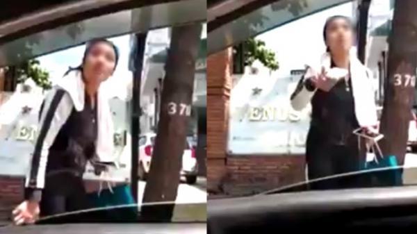 Clip cô gái chửi tục, hổ báo cầm gạch dọa phang tài xế Grabcar, đòi chở về tận nơi ở TP.HCM