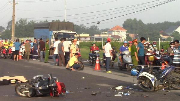 Thầy giáo bị tai nạn t.ử vong thương tâm trên đường đến trường
