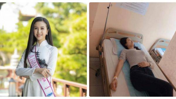 Á hậu quê Kiên Giang - Thúy An nhập viện phẫu thuật sau 2 tuần đăng quang