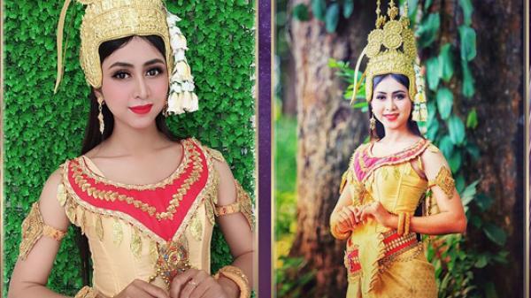 Cô gái Trà Vinh xinh đẹp, duyên dáng và nổi bật tại cuộc thi Hoa hậu Hoàn vũ Việt Nam 2019