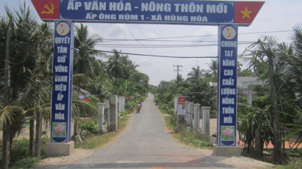 Trà Vinh: Người dân góp 1.300 tỷ đồng xây dựng nông thôn mới