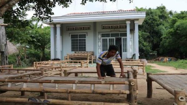 Về Trà Vinh khám phá nghề đóng giường tre của người Khmer