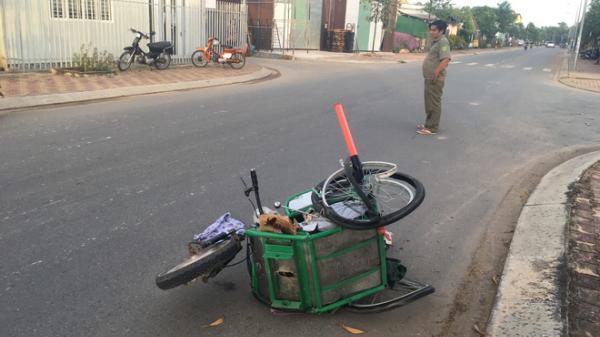 Tài xế ô tô gây tai nạn khiến cụ bà quê Trà Vinh ngồi xe lăn bán vé số tử vong tại chỗ