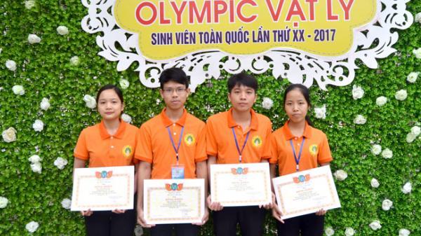 Tuyên Quang: Bốn sinh viên giành giải nhất cuộc thi Olympic Vật lý