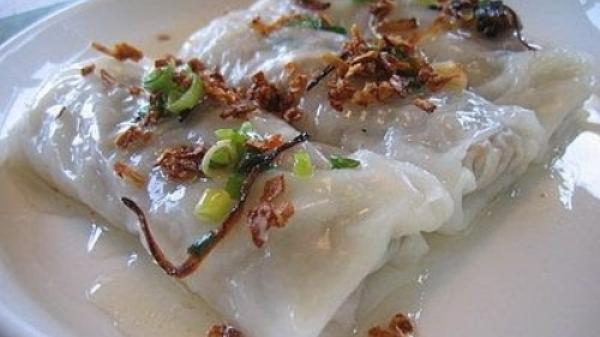 Đậm đà bánh cuốn Tuyên Quang