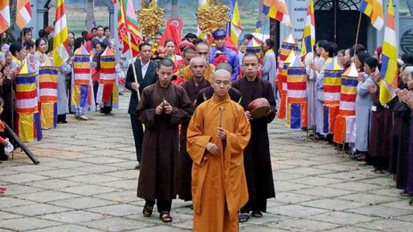 Độc đáo lễ rước nước ở thành phố Tuyên Quang
