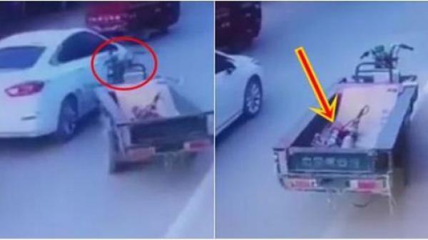 Sự thật rùng mình về chiếc xe không người lái tự nhào vào ô tô chạy trên đường