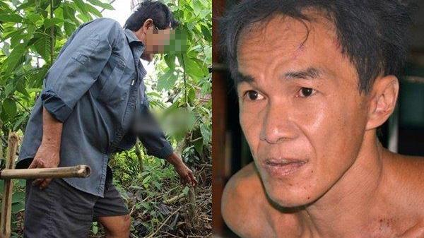Hàng xóm của nghi can vụ chém chết người : 'Không ai dám vô vườn thằng Tâm, vô là nó chém chết'