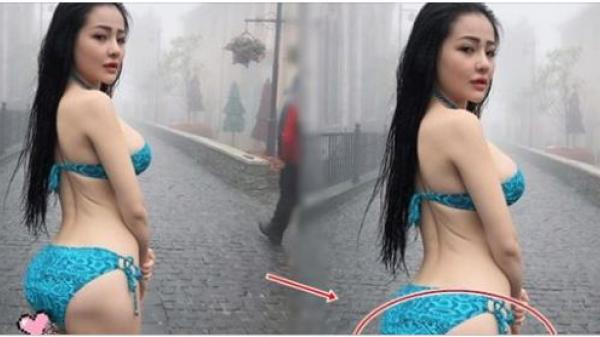 """Mặc bikini đi giữa phố, Ngân 98 bị dân mạng """"bóc phốt"""" nhược điểm cực xấu hổ"""