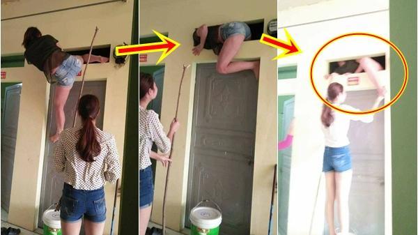 Đau ruột với thiếu nữ 'não cá vàng' khều chìa khóa quên trong phòng khiến dân mạng cười không nhặt được mồm