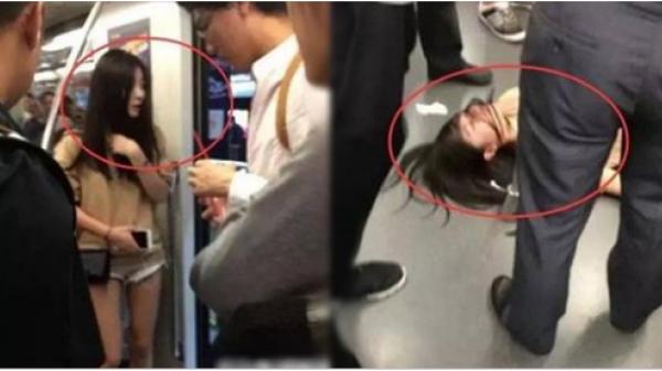 Cô gái đang khỏe mạnh bỗng ngất lịm trên tàu, trong lúc mọi người lúng túng gọi cấp cứu thì cô nàng biến mất để lại dấu vết kinh hãi phía sau