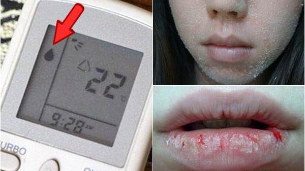 Nếu da bị khô, môi bị bong tróc vì bật điều hòa đi ngủ thì đọc ngay bài viết này, nó sẽ cứu sống bạn đấy