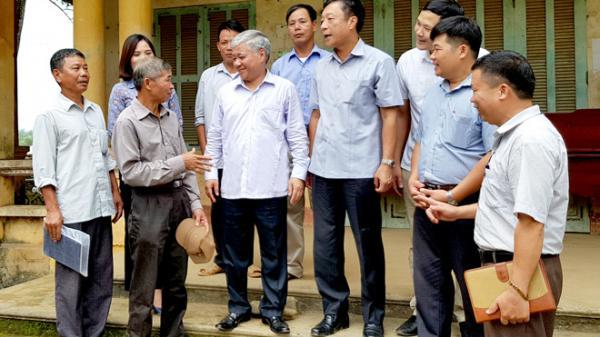 Tuyên Quang: Đồng chí Bộ trưởng, Chủ nhiệm Ủy ban Dân tộc Đỗ Văn Chiến tiếp xúc cử tri huyện Sơn Dương