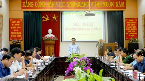 Tuyên Quang: Triển khai nhiệm vụ kiểm tra, giám sát những tháng cuối năm