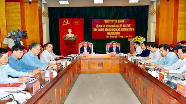 Hội nghị cán bộ toàn quốc học tập, quán triệt, triển khai các nội dung Hội nghị Trung ương 8, khóa XII