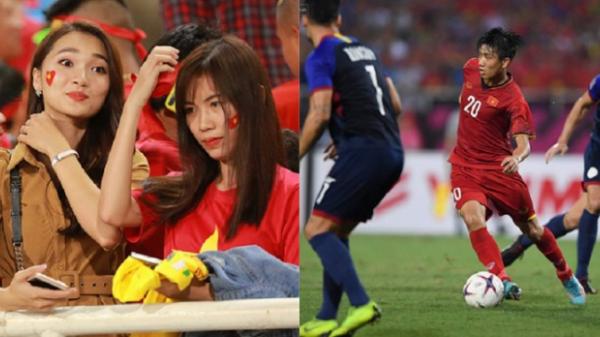 """Kiến tạo giúp ĐT Việt Nam chiến thắng, Văn Đức bất ngờ được hotgirl """"thả thính"""" cực mạnh"""
