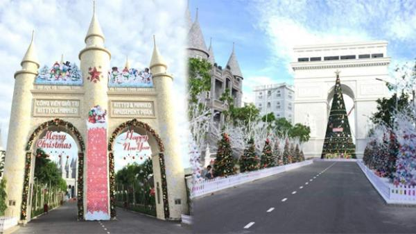 Giáng sinh này QUẨY tưng bừng, MIỄN PHÍ tại công viên giải trí cực hot ngay gần Bạc Liêu