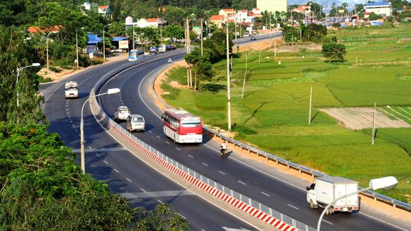 Ngày 24/12, bắt đầu thu phí BOT Bắc Ninh - Uông Bí (Quảng Ninh) trên QL18