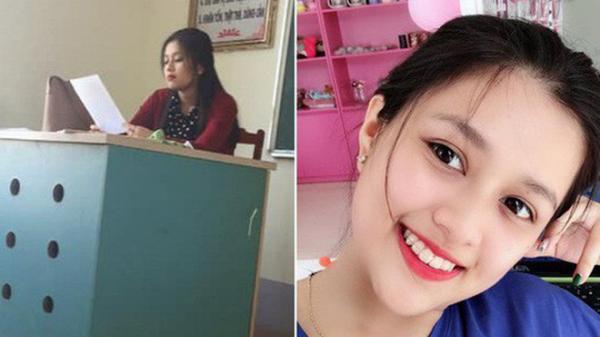 Bị học sinh chụp lén, cô giáo Quảng Ninh xinh đẹp được cư dân mạng xin info 'ầm ầm'