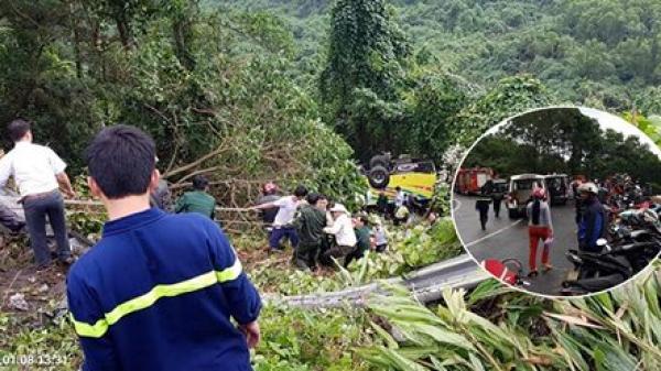 TT Huế: Hé lộ danh tính ban đầu của 21 nạn nhân trong xe khách lao xuống đèo Hải Vân