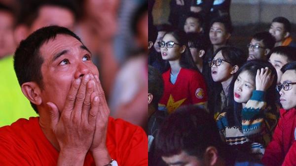Thua 2 bàn liên tiếp đầy tiếc nuối, người hâm mộ Việt Nam khóc hết nước mắt: Hôm nay cả nước không ngủ