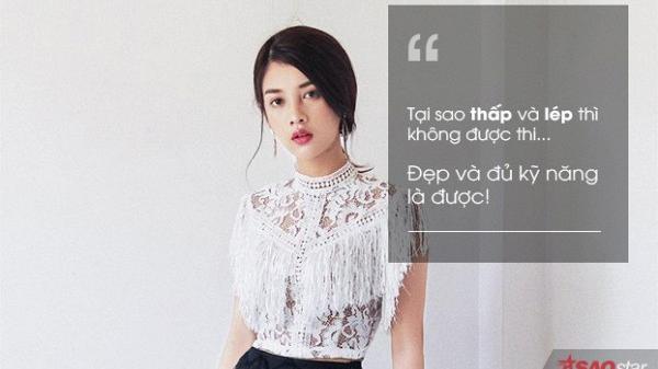 Mỹ Duyên - cô gái quê Tuyên Quang đáp trả cư dân mạng khi bị chê thấp và 'lép', không đủ tiêu chuẩn thi Hoa hậu Hoàn vũ Việt Nam 2017