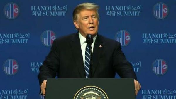 Tổng thống Trump nêu lý do khiến Hội nghị Thượng đỉnh không đạt thỏa thuận