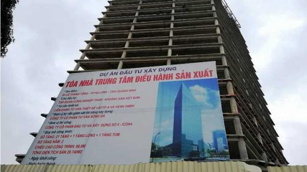 """Quảng Ninh: Dự án """"khủng"""" của TKV chậm tiến độ, làm """"xấu"""" bộ mặt đô thị TP. Hạ Long"""