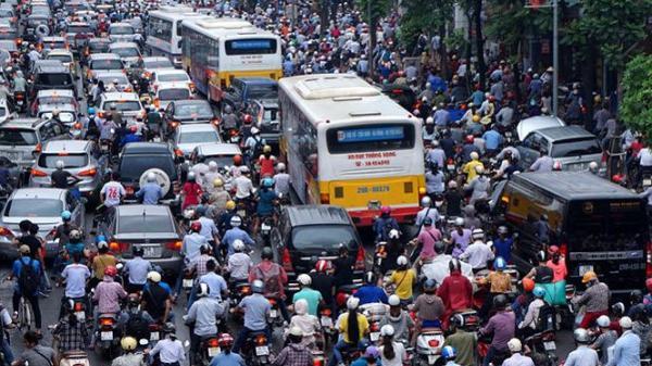 Lộ trình dừng hoạt động của xe máy tại Hà Nội