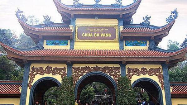 """Hàng trăm bài viết """"gọi vong"""" và số tài khoản trên website chùa Ba Vàng biến mất"""