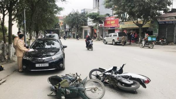 Cao Bằng: Tai nạn giao thông liên hoàn làm 3 người bị thương nghiêm trọng