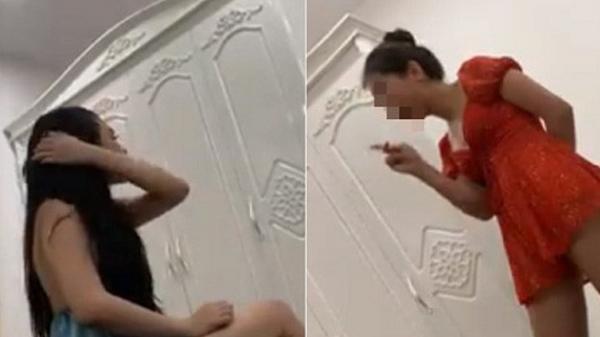Hà Nội: Vụ đánh ghen gay cấn như phim hành động, chồng xuất hiện bảo vệ nhân tình, kéo lê vợ về nhà