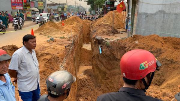 Đào đất để lắp ống nước bất ngờ người đàn ông bị đất vùi lấp t.ử v.ong dưới hố sâu