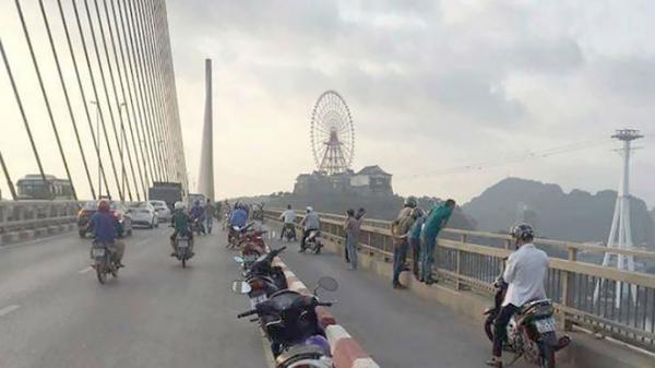 Quảng Ninh: Đã tìm thấy thi thể cô gái nhảy cầu Bãi Cháy tự tử