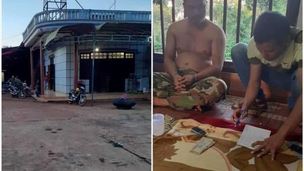 Đắk Lắk: Bắt quả tang cán bộ kiểm lâm cùng giáo viên sát phạt trên chiếu bạc