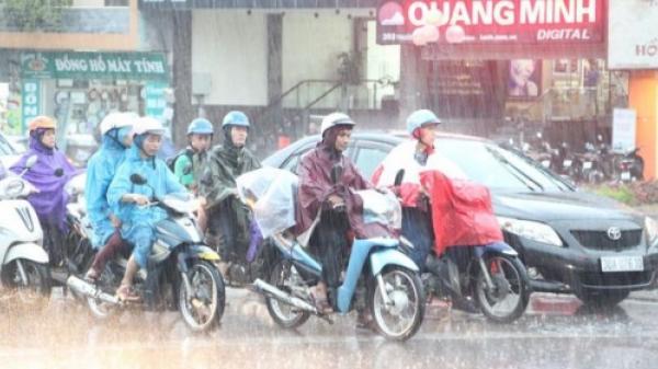 Chiều tối nay, các tỉnh Bắc Bộ CHÍNH THỨC được giải nhiệt bởi mưa rào và dông
