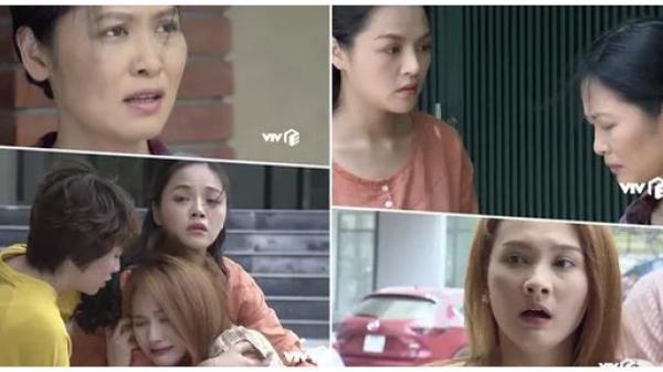 """Phim Về nhà đi con tập 48: Lý do 3 chị em khóc không thành tiếng khi thấy """"người tình"""" của bố"""
