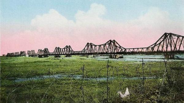 Hà Nội: Ảnh xưa hiếm có về cầu Long Biên